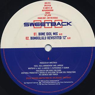 Sweetback / You Will Rise(The Drizabone Mixes) back
