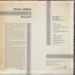 Tania Maria / Piquant back