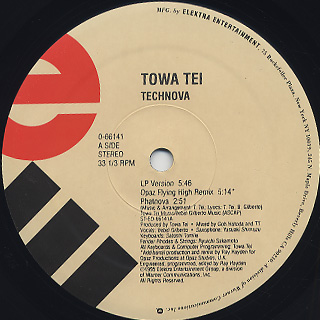 Towa Tei / Technova back