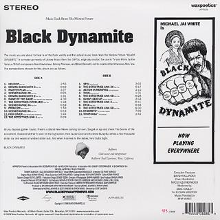 V.A. / Black Dynamite (Motion Picture Soundtrack) back