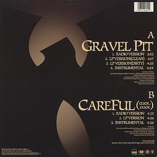 Wu-Tang Clan / Gravel Pit back