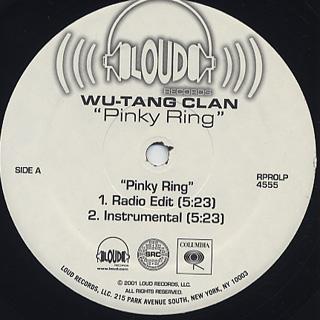 Wu-Tang Clan / Pinky Ring back
