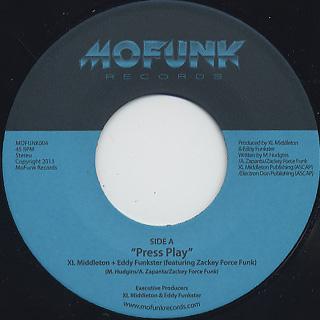 XL Middleton & Eddy Funkster / Press Play b/w Super Gorilla