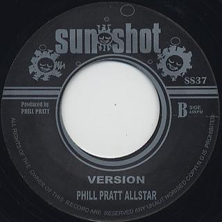 Al Campbell / Gee Baby c/w Phill Pratt Allstar / Version back