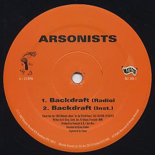 Arsonists / Backdraft back