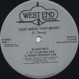 Black Riot / Just Make That Move back