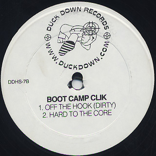 Boot Camp Clik / Off The Hook back