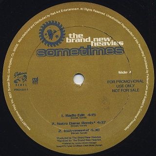 Brand New Heavies / Sometime back
