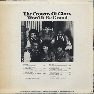 Crowns Of Glory / Won't It Be Grand back