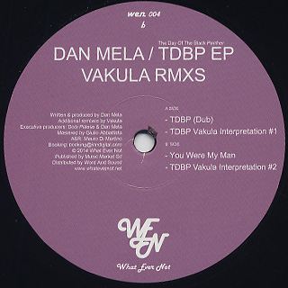 Dan Mela / The Day Of The Black Panther (Vakula Remix)