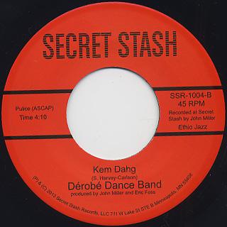 Derobe Dance Band / Gogoplata b/w Kem Dahg back