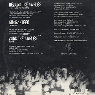 Dilated Peoples / Rework The Angels back