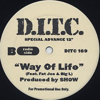 D.I.T.C. / Way Of Life back