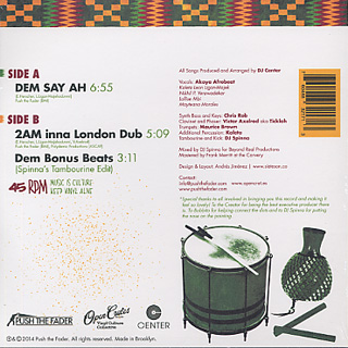 DJ Center feat. Akoya Afrobeat / DEM SAY AH back