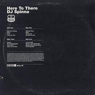 DJ Spinna / Here To There back