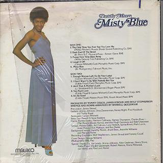 Dorothy Moore / Misty Blue back