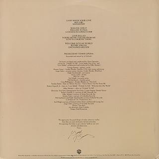 George Benson / Livin' Inside Your Love back
