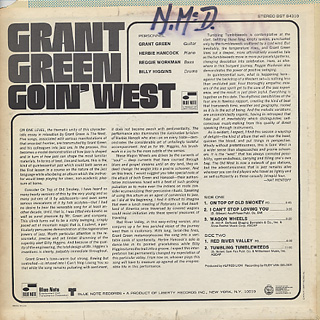 Grant Green / Goin' West back