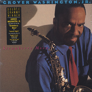 Grover Washington, Jr. / Strawberry Moon front
