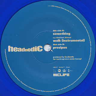 Headnodic / Something back