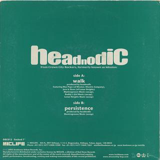 Headnodic / Walk back