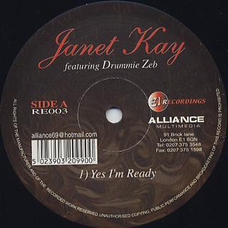 Janet Kay / Yes I'm Ready
