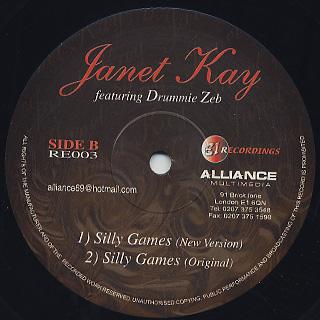 Janet Kay / Yes I'm Ready back