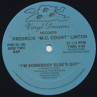 Jocelyn Brown / Somebody Else's Guy c/w I'm Somebody Else's Guy back