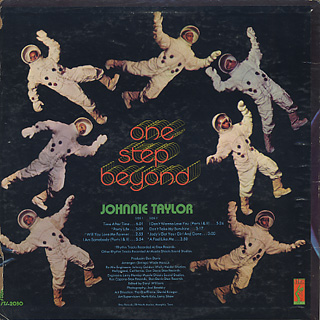 Johnnie Taylor / One Step Beyond back