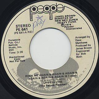 Lyn Collins / Rock Me Again & Again & Again & Again & Again & Again(6 Time)