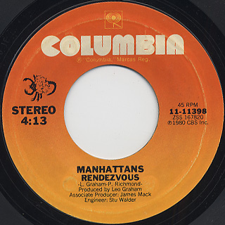 Manhattans / I'll Never Find Another (Find Another Like You) back