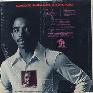 Monguito Santamaria / En Una Nota! back
