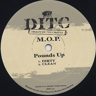M.O.P. / Pounds Up back