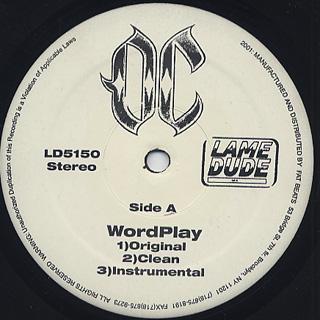 OC / Word Play back