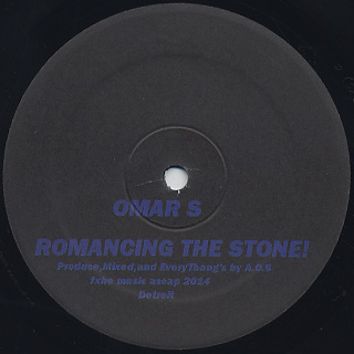Omar S / Romancing The Stone (2x12inch) back