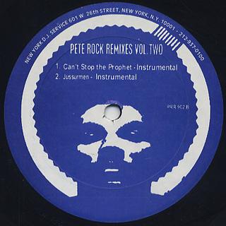 Pete Rock / Remixes Vol.2 back