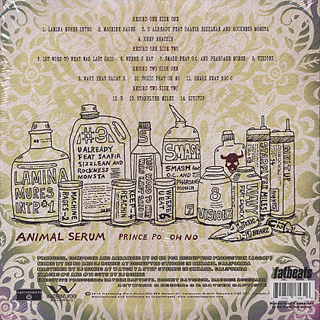 Prince Po & Oh No / Animal Serum back