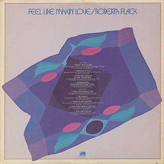 Roberta Flack / Feel Like Makin' Love back