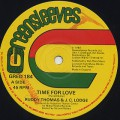 Ruddy Thomas & J.C. Lodge / Time For Love