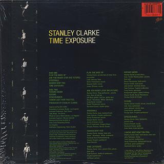 Stanley Clarke / Time Exposure back