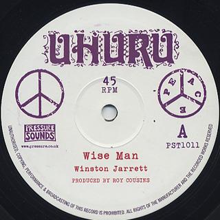 Winston Jarrett / Wise Man