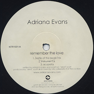Adriana Evans / Remember The Love
