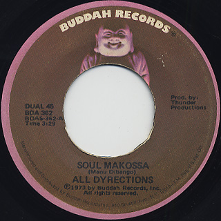 All Dyrections / Soul Makossa c/w On Top Of It