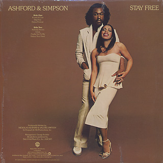 Ashford & Simpson / Stay Free back