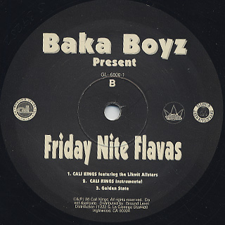 Baka Boyz / Friday Nite Flavas back