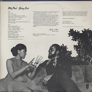 Billy Paul / Going East (Sealed) back