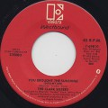 Clark Sisters / You Brought The Sunshine(Into My Life) (45)