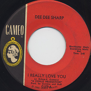 Dee Dee Sharp / I Really Love you front