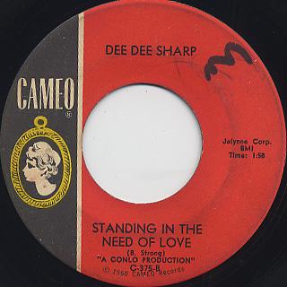 Dee Dee Sharp / I Really Love you back
