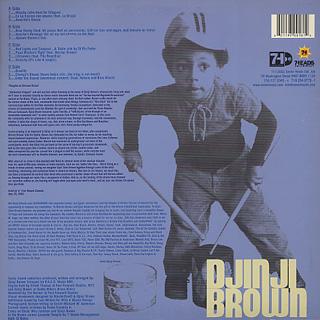 Djinji Brown / Sirround Sound back
